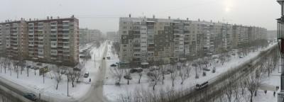 Un panorama urbain russe