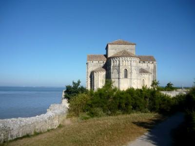 L'église Sainte-Radegonde de Talmont-sur-Gironde