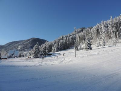 La station de sports d'hiver