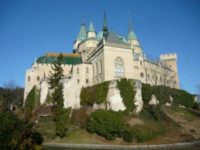 Bojnice, l'un des plus célèbres des nombreux châteaux de Slovaquie