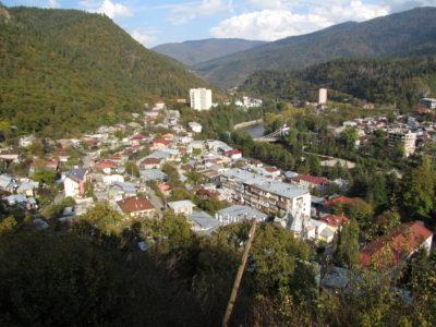 Panorama de Bordjomi.