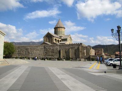 La cathédrale de Mtskheta.