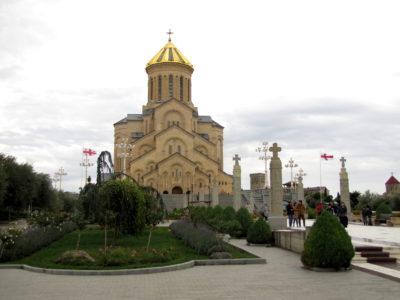 La cathédrale de la Trinité.